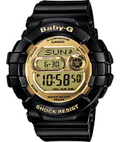 G-Shock BGD141-1 Baby-G 3D Protection Black & Gold Watch
