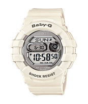 G-Shock BGD141-7 Baby-G 3D Protection White & Silver Watch