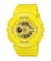 G-Shock Baby-G BA110BC-9A Yellow Watch