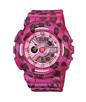 G-Shock Baby-G BA110LP-4A Leopard Print Pink Watch