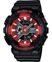 G-Shock Baby-G BA110SN-1A Black Watch