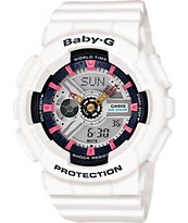 G-Shock Baby-G BA110SN-7A White Watch