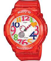 G-Shock Baby-G BGA-131-4B Jelly Red Watch