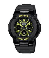 G-Shock Baby-G BGA117-1B3 Street Neon Black Watch