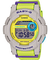 G-Shock Baby-G BGD180-3 Lime Watch