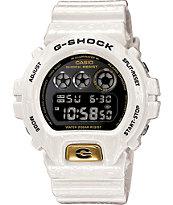 G-Shock DW6900CR-7 LTD Crocodile Texture White Watch