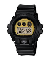 G-Shock DW6900PL-1 Polarized Black & Gold Watch