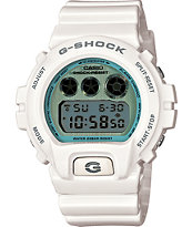 G-Shock DW6900PL-7 Polarized White & Steel Watch