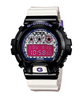 G-Shock DW6900SC-1 Crazy Color White & Black Digital Watch