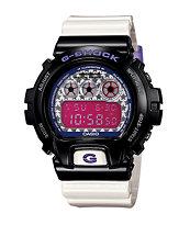 G-Shock DW6900SC-1 Crazy Color White & Black Digital Watch