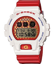 G-Shock DW6900SC-7 Crazy Color Burgundy & White Digital Watch