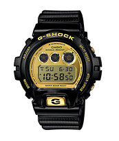 G-Shock DW6930D-1 Limited Edition 30 Year Black & Gold Watch