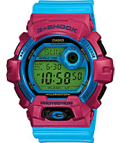 G-Shock G8900SC-4 Crazy Color Pink & Cyan Digital Watch
