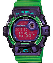 G-Shock G8900SC-6 Crazy Color Purple & Green Digital Watch