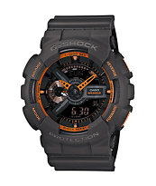 G-Shock GA-110TS-1A Grey & Orange Watch