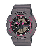 G-Shock GA-110TS Dark Grey & Pink Watch