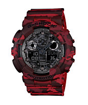 G-Shock GA100CM-4A Digital Chronograph Watch