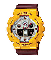 G-Shock GA100CS-9A Crazy Color Digital Watch