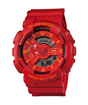 G-Shock GA110AC-4A X-Large Red Analog & Digital Watch
