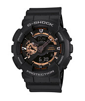 G-Shock GA110RG-1A Black & Rose Gold Watch
