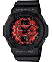 G-Shock GA150MF-1A Metallic Finish Black Watch
