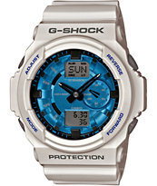 G-Shock GA150MF-7A Metallic Finish White Watch