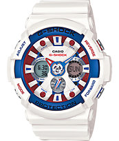G-Shock GA201TR-7A Tri-Color Watch