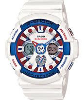 G-Shock GA201TR-7A Tri-Color Watch