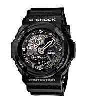 G-Shock GA300-1A Black Chronograph Watch