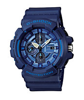 G-Shock GAC-100-2ACR Navy Metallic Chronograph Watch