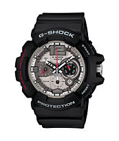 G-Shock GAC110-1A Arabic Index Black & Silver Analog Watch