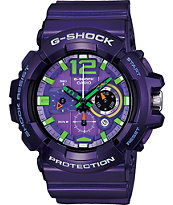G-Shock GAC110-6A Arabic Index Purple Analog Watch