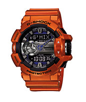 G-Shock GBA400-4B Bluetooth Watch