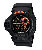 G-Shock GDF100-1B Classic Black & Orange Watch