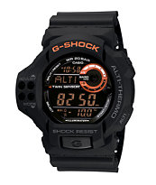 G-Shock GDF100-1B Twin Sensor Watch