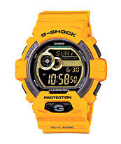 G-Shock GLS-8900-9 Winter G-Lide Yellow Digital Watch
