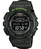 G-Shock GLS100-3 Winter G-Lide Green Watch