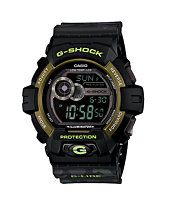 G-Shock GLS8900CM-1 Winter G-Lide Black Camo Watch