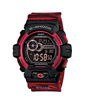 G-Shock GLS8900CM-4 Winter G-Lide Red Camo Watch