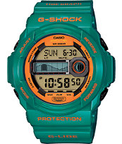G-Shock GLX-150B-3 G-Lide Turquoise & Orange Digital Tide Watch