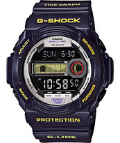 G-Shock GLX-150B-6 G-Lide Metallic Blue Digital Tide Watch