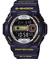 G-Shock GLX-150B-6 G-Lide Metallic Blue Digital Tide Watch