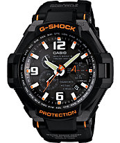 G-Shock GW4000-1A G-Aviation Black & Orange Chronograph Watch
