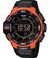 G-Shock PRG-270-4 Pro Trek Black & Red Digital Watch