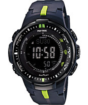 G-Shock Pro Trek PRW-3000-1A Blue Solar Powered Digital Watch