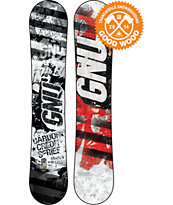 GNU Carbon Credit Series BTX 156 Wide Snowboard