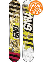 GNU Carbon Credit Series BTX 162 Wide Snowboard