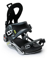 GNU Street Black Speed Entry Snowboard Bindings