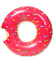 Gigantic Pink Donut Inflatable Pool Float