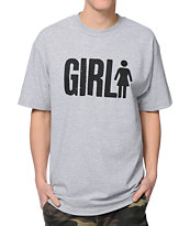 Girl Big Girl Grey T-Shirt